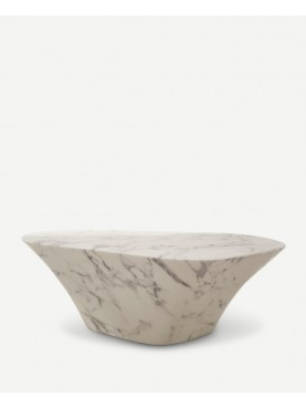 Coffee Table Oval Marble